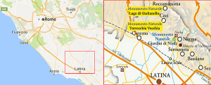 cartina stradale per Torrecchia