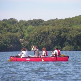 In Canoa sul Lago di Paola