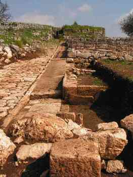 sito archeologico di Norba, V sec a.C.