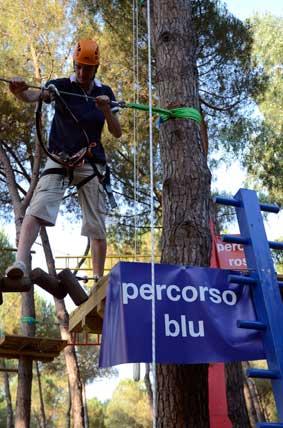 Scegli il Percorso Blu AcquaAvventura